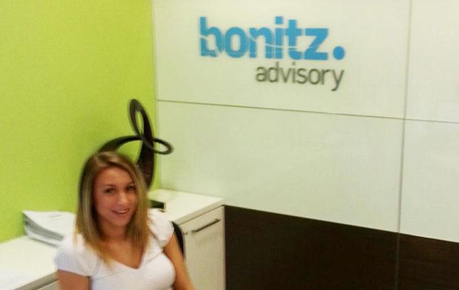 new bonitz advisory sign